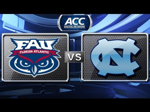 FAU vs North Carolina Basketball Highlights