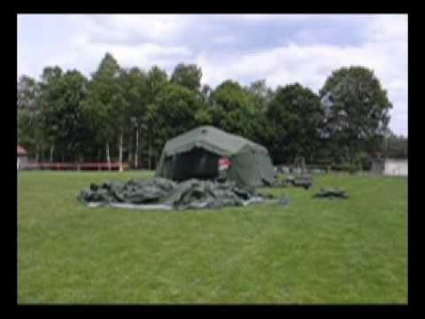 Fast Tent Inflation for Military Use and Emergency Units