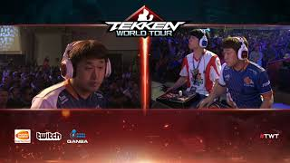 Tekken 7 - Echo Fox Saint vs Fursan LowHigh - Combo Breaker 2018 - Top 8