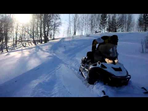 Тайга варяг 550 v LYNX 600 НО в горах Тест на возможности утилитарного снегохода