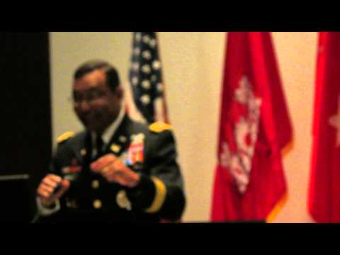 LTG Thomas Bostick comments on the Illinois and Mississippi River