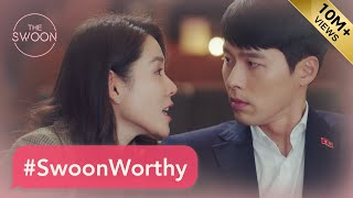 Crash Landing on You #SwoonWorthy moments with Hyun Bin and Son Ye-jin [ENG SUB]
