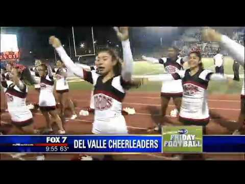 Del Valle High School Cheerleaders - YouTube
