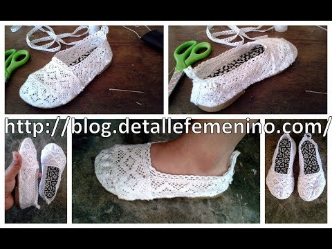 Copia de Zapatillas de encaje