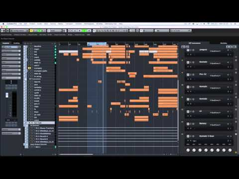 Spiritual South Green Gold: Reconstruction in Cubase Pro 8