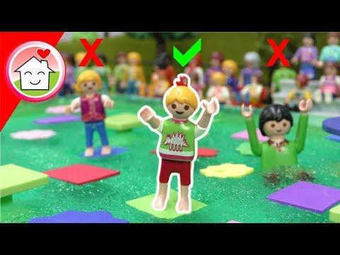 Playmobil Film Familie Hauser - Wähle nicht den falschen Weg - Schüler gegen Lehrer Challenge
