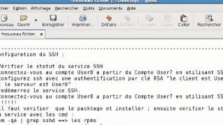 configuration ssh sous linux