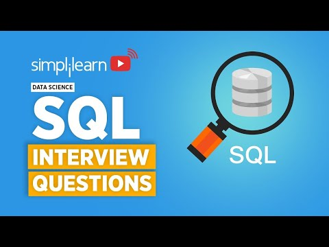 SQL Interview Questions And Answers For Data Science | SQL Interview Preparation | Simplilearn