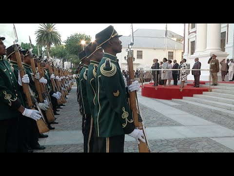 State of the Nation Address red carpet and arrival of President Jacob Zuma