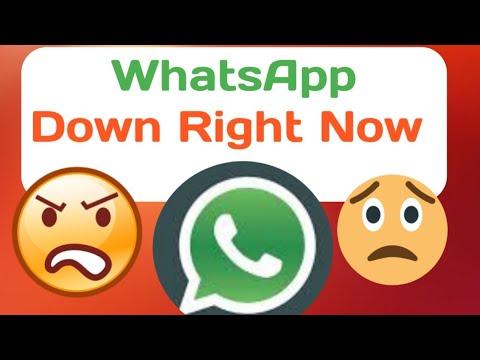 WhatsApp Down Today 😡 🔥 🔥|WhatsApp Not Working | WhatsApp  Down Globally | New Year WhatsApp down