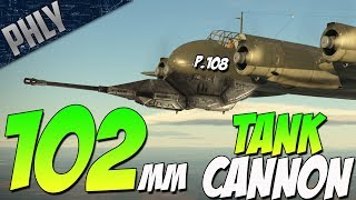 Italy's FLYING TANK - 102mm P.108A Serie 2 (War Thunder Italian Planes Gameplay)