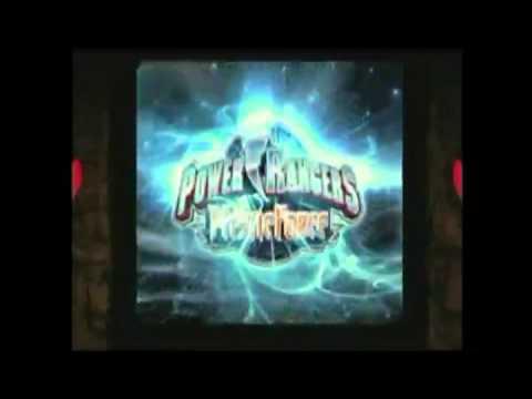 Power Rangers Legacy DVD Menus