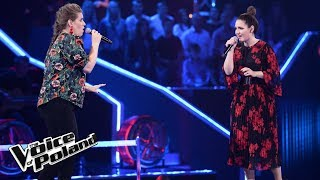 "Asia Banaszkiewicz vs Patrycja Ciborowska - ""Send My Love"" - Bitwy - The Voice of Poland 8"