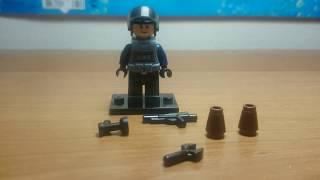 Как сделать LEGO - оружие (снайперская винтовка, базука, АК-47) I How to make LEGO guns