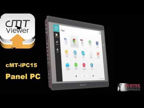 Smart HMI cMT-3151 & cMT-iPC15 Panel PC Weintek IIoT EasyLauncher cMTViewer How-To