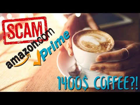 The Most Expensive 1400$ Coffee: Amazon Scam?