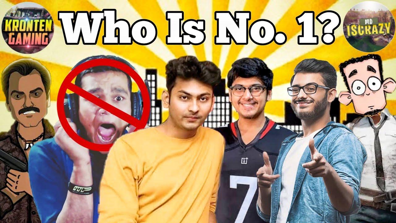 Top 10 Gamers in India 2019 | Carryminati, Mortal, dynamo gaming,  Jack Shukla, no beastBoy Shub