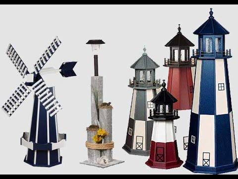 Wooden Lighthouses - Wooden Windmills