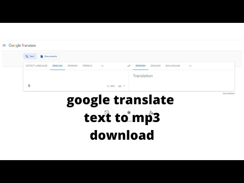 How to fix Google Translate Audio Download in mp3 Not Working ~Problem Solved