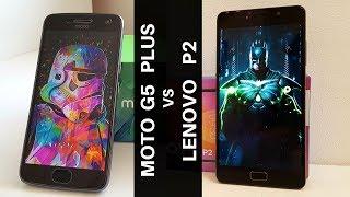 CONFRONTO Lenovo   Moto G5 Plus contro P2  