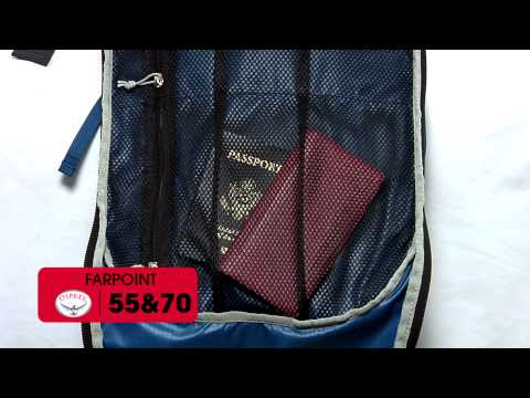 Osprey Packs | Farpoint 55 and 70 | Product Tour