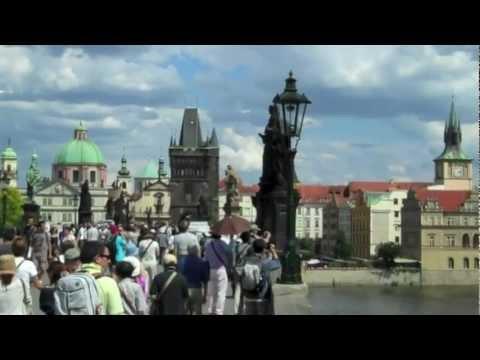 Prague From Charles Bridge-Praha z Karlova Mostu