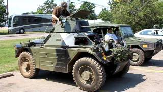 Ferret Scout Car and Bombardier Iltis