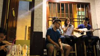 Tóc Hát Acoustic Cover - Nát Band _ NatBest Coffee