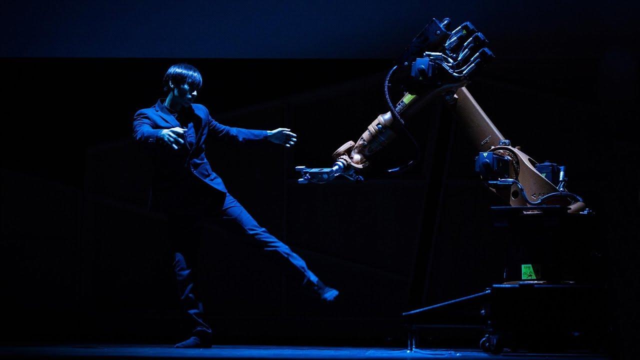 A Human Robot Dance Duet Huang Yi Kuka Youtube