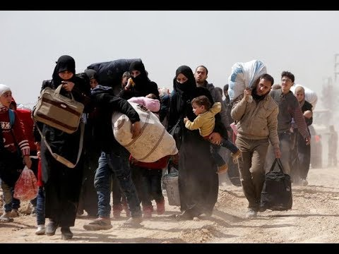 اتصال هاتفي | تواصل فرار آلاف السوريين مع تصاعد القتال في الغوطة  - نشر قبل 2 ساعة