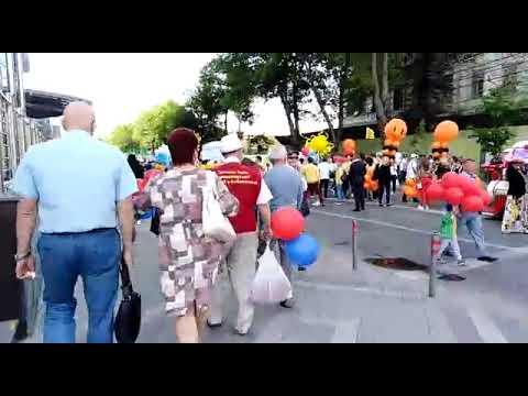 Празднование 1 Мая. Краснодар. 01.05.2019