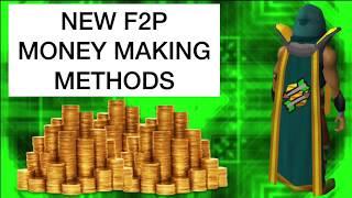 RuneScape 2017 | New F2P Money Making Methods!
