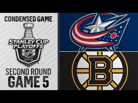 05/04/19 Second Round, Gm5: Blue Jackets @ Bruins