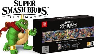 Massive News:  Smash Ultimate Limited Edition Bundle Revealed & 5 New Smash Amiibo & Direct Review