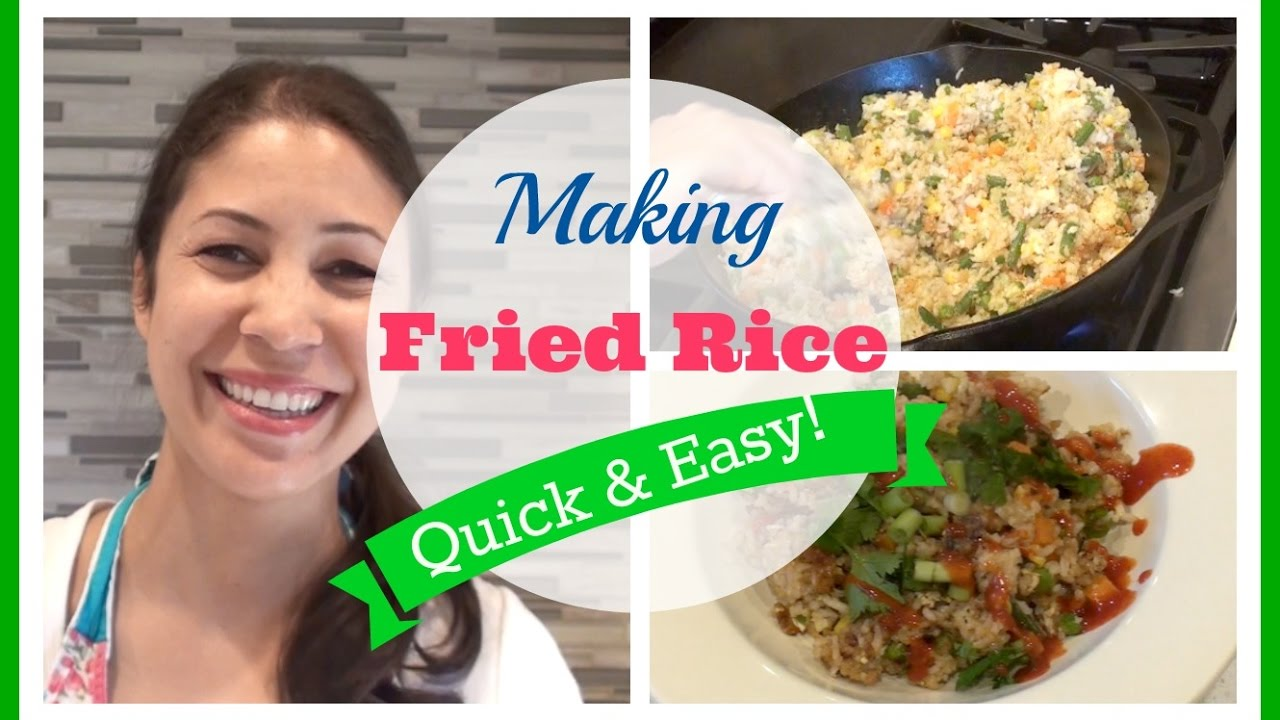 Quick easy fried rice recipe jennifer l scott youtube quick easy fried rice recipe jennifer l scott ccuart Image collections