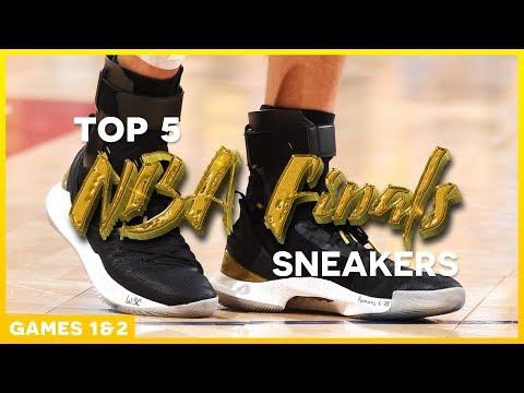 Top 5 Sneakers of the 2018 NBA Finals (Games 1 & 2)