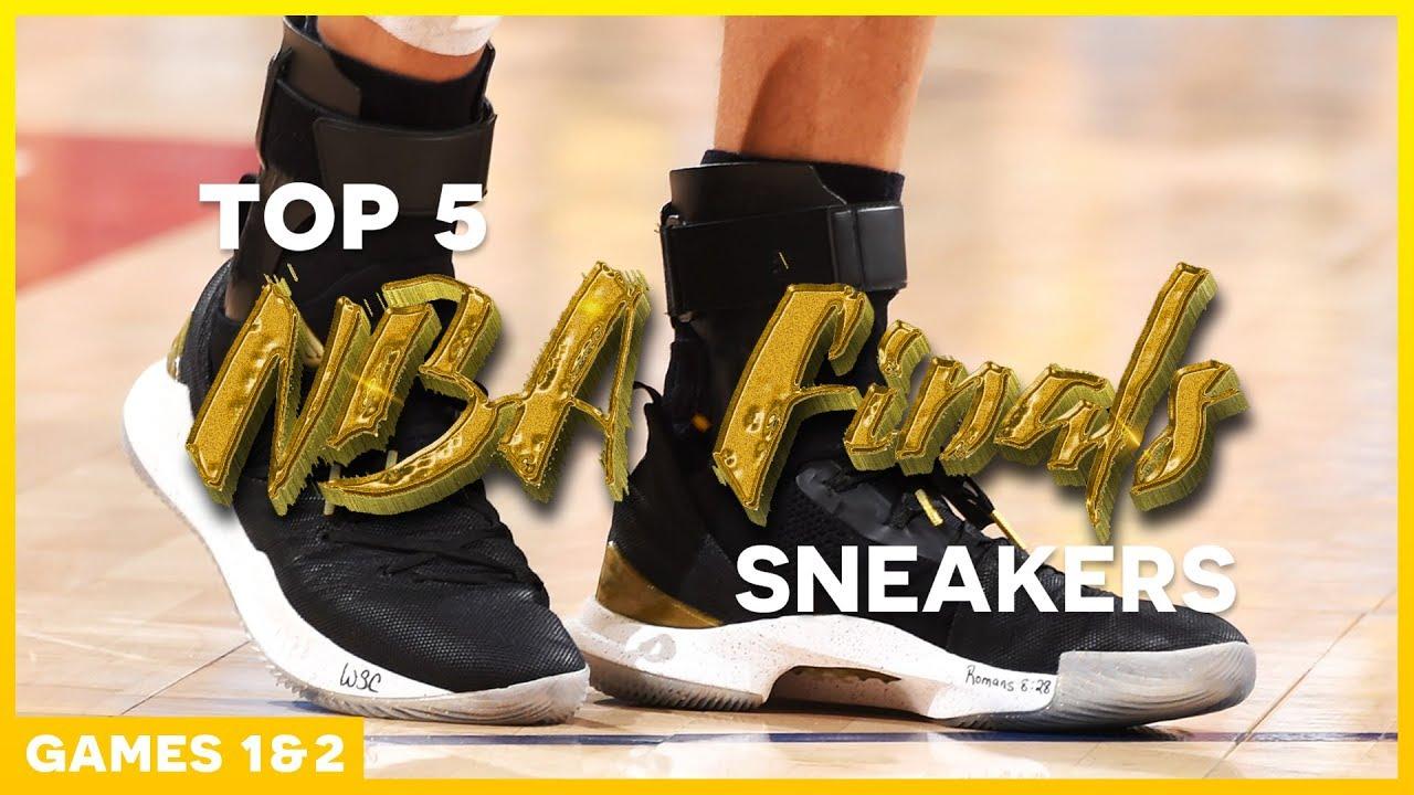 5d3483015be Top 5 Sneakers of the 2018 NBA Finals (Games 1   2) - YouTube