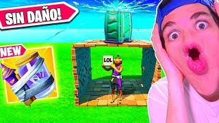 *TRUCO* NO PUEDE ROMPERSE POR *GRIETA DE TRASTOS* FORTNITE Battle Royale *EPIC FAILS*