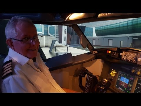Captain David flies Dubai and Kai Tak