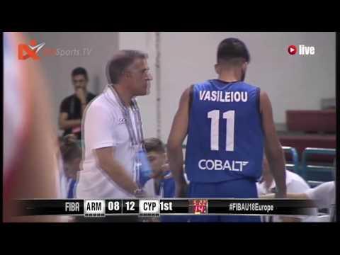 04July 2017 - FIBA U18 EUROPEAN CHAMPIONSHIP - CYPRUS VS ARMENIA