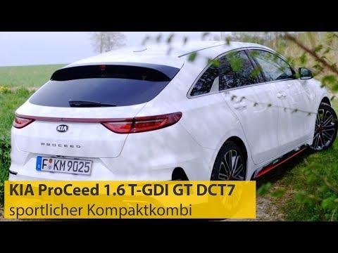 ADAC Autotest: KIA ProCeed 1.6 T-GDI GT DCT7 | ADAC 2019