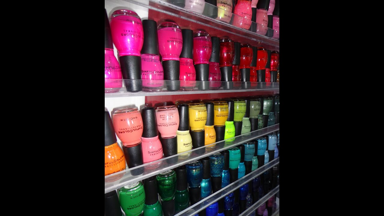 2013 Updated Sinful Colors Nail Polish Collection - YouTube