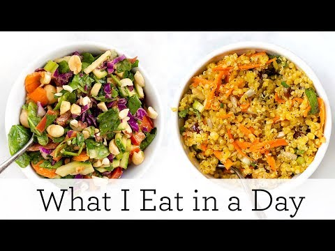 WHAT I EAT IN A DAY (VEGAN + GF) ‣‣ Healthy Recipes for Summer