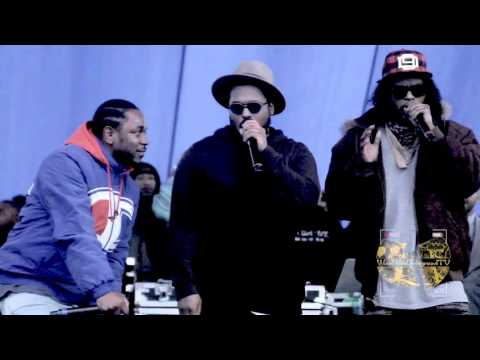 Black Hippy - Vice City  Live @ (Nickerson Gardens Free Concert Presented By TDE!!!)12/22/15