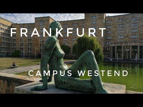 FRANKFURT Vlog // Campus Westend - прогулка по университетскому городку
