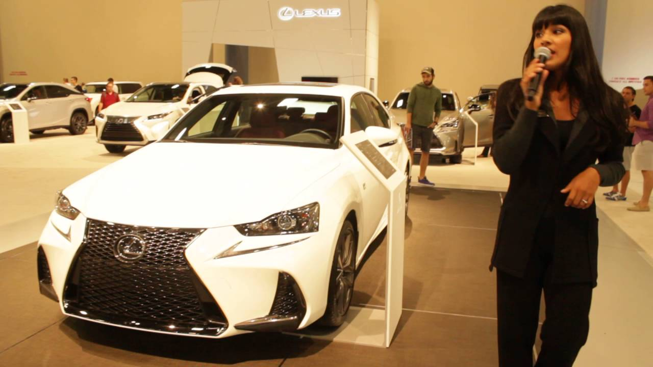 2016 Autoshow In Miami Beach 2017 Lexus
