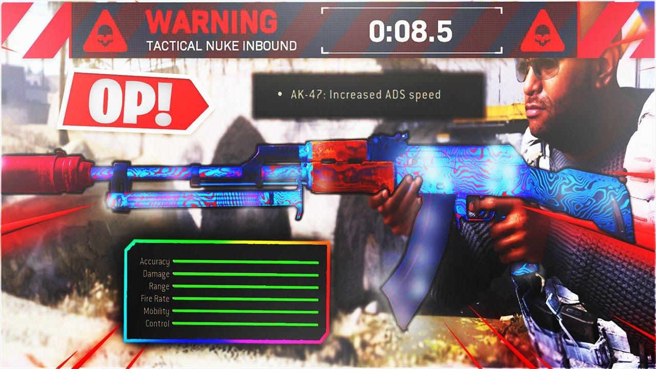 NEW *META CHANGING* 3 SHOT AK-47 BEST CLASS SETUP on MODERN WARFARE - BEST AK-47 Class Setup Warzone