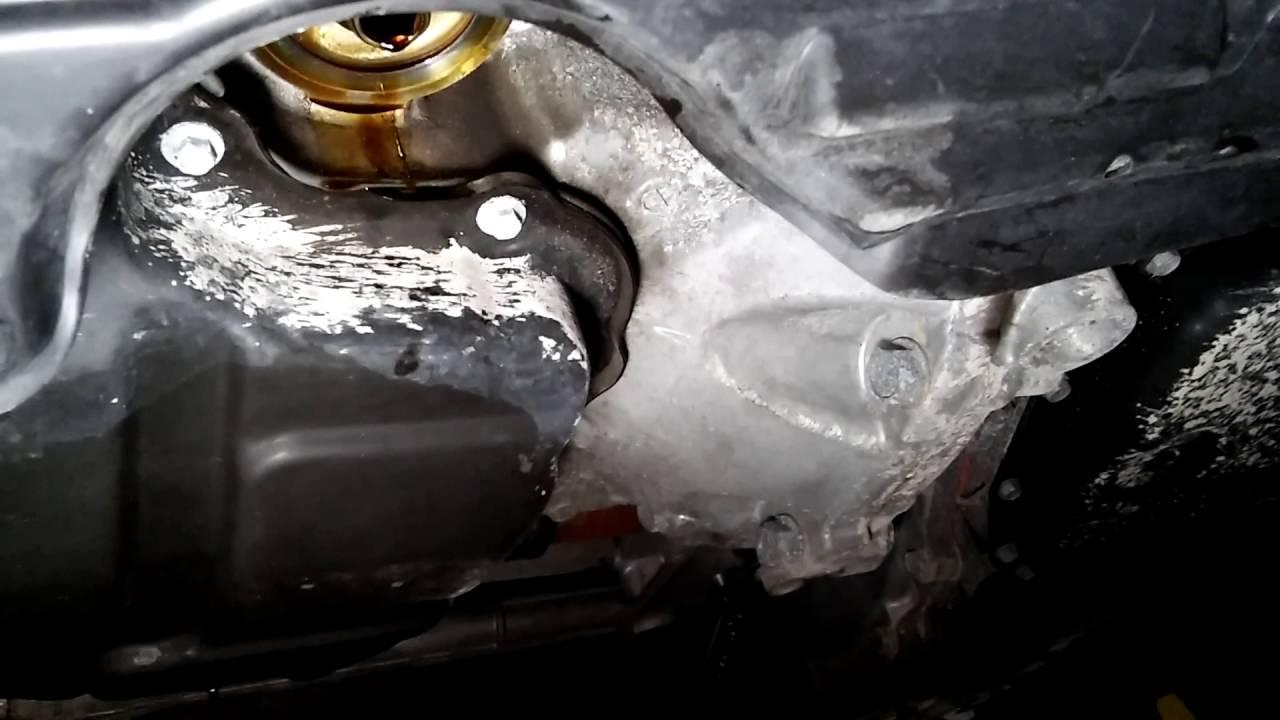 2014 Nissan Sentra oil change - YouTube