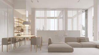 35 Best Minimalist Style Living Interior Designs with Minimalist Furniture Decorating