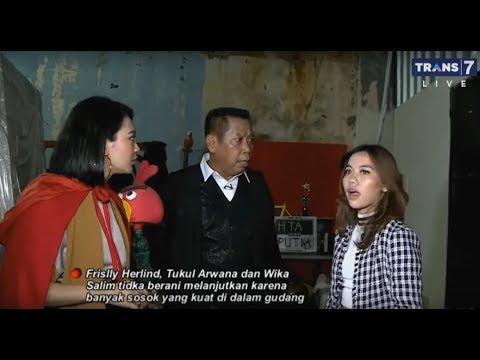 HOROR Penelusuran  di Gudang Studio Bareng Frislly Herlind | INI BARU EMPAT MATA (01/11/19) Part 1